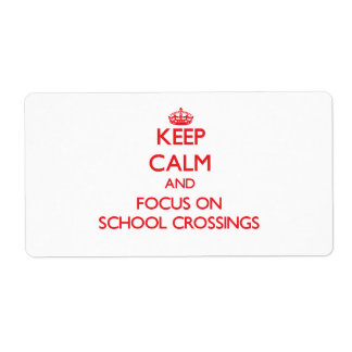 Guarde la calma y el foco en travesías de escuela