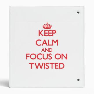 Guarde la calma y el foco en Twisted