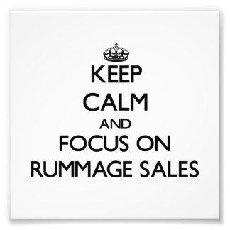 Guarde la calma y el foco en ventas de búsqueda cojinete