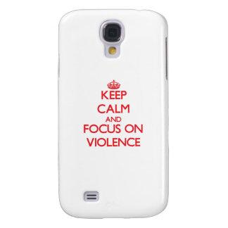 Guarde la calma y el foco en violencia
