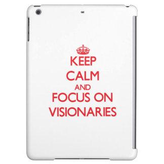 Guarde la calma y el foco en visionarios