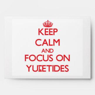 Guarde la calma y el foco en Yuletides