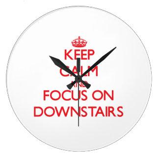 Guarde la calma y el foco encendido abajo