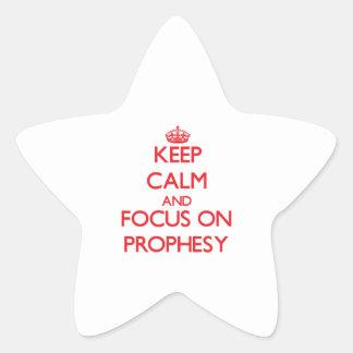 Guarde la calma y el foco encendido para prophesy