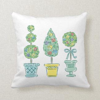 Guarde la calma y el jardín en 2 - almohada cojín decorativo