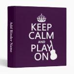 Guarde la calma y el juego en (guitarra) (todos lo