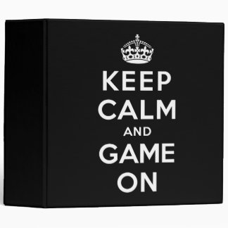 """Guarde la calma y el juego encendido carpeta 2"""""""