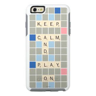 Guarde la calma y el juego encendido funda otterbox para iPhone 6/6s plus