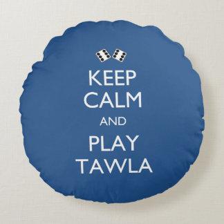 Guarde la calma y el juego Tawla