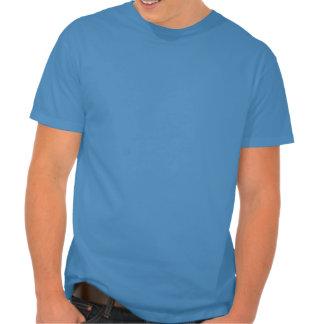 Guarde la calma y el kitesurf en la camiseta para  playeras
