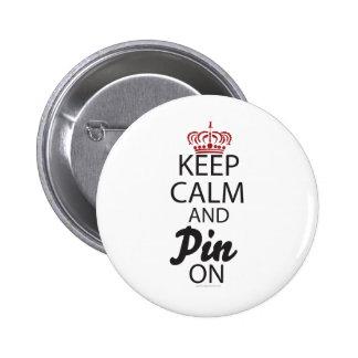 Guarde la calma y el Pin en….