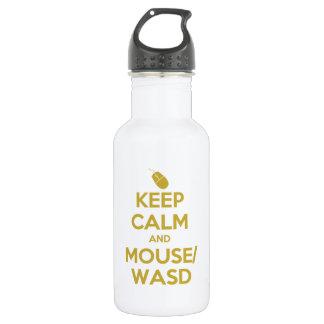 Guarde la calma y el ratón WASD
