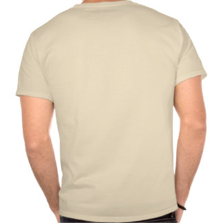 Guarde la calma y el resplandor en su camiseta de