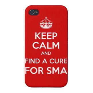 Guarde la calma y encuentre una curación para el c iPhone 4/4S funda