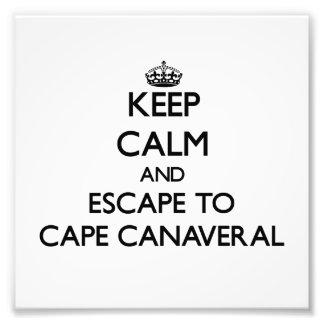 Guarde la calma y escápese a Cabo Cañaveral la Impresiones Fotográficas