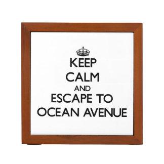 Guarde la calma y escápese a la avenida