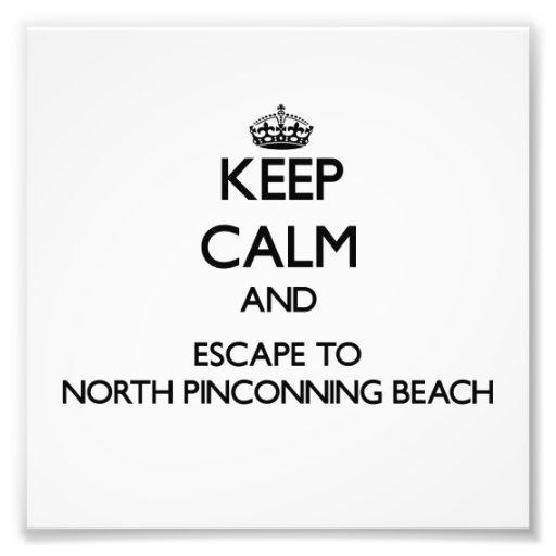 Guarde la calma y escápese a la playa del norte fotografias