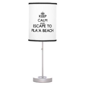 Guarde la calma y escápese a la playa Hawaii de