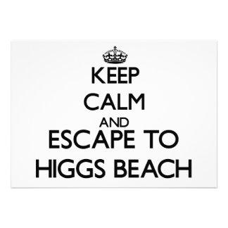 Guarde la calma y escápese a la playa la Florida Comunicado Personal
