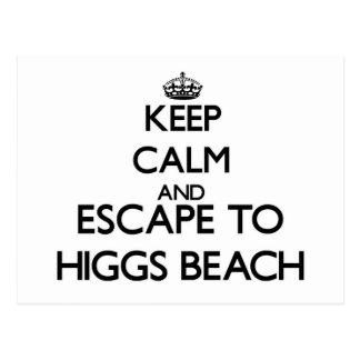 Guarde la calma y escápese a la playa la Florida Postal