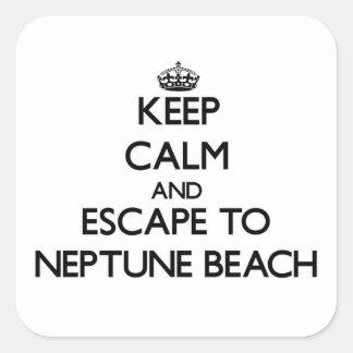 Guarde la calma y escápese a la playa Oregon de Colcomanias Cuadradases