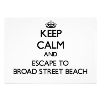Guarde la calma y escápese a la playa Wiscons de Comunicado