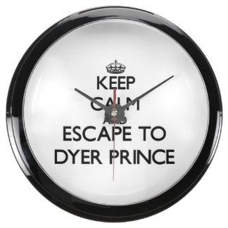 Guarde la calma y escápese a príncipe reloj aquavista
