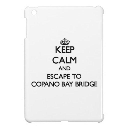 Guarde la calma y escápese al puente Tejas de la
