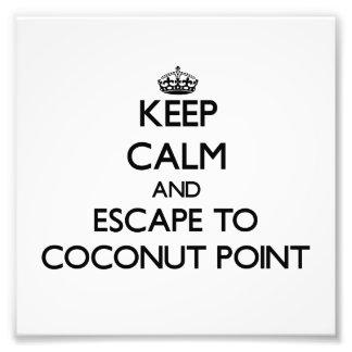 Guarde la calma y escápese al punto Samoa del coco Fotos