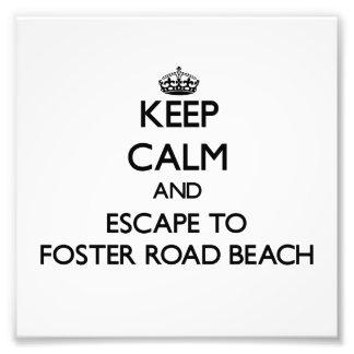 Guarde la calma y escápese para fomentar la playa fotografia
