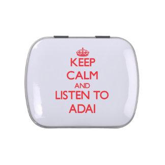 Guarde la calma y escuche ADAI