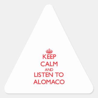 Guarde la calma y escuche ALOMACO