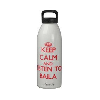 Guarde la calma y escuche BAILA