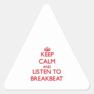 Guarde la calma y escuche BREAKBEAT