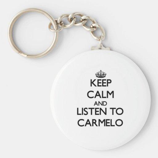 Guarde la calma y escuche Carmelo Llavero