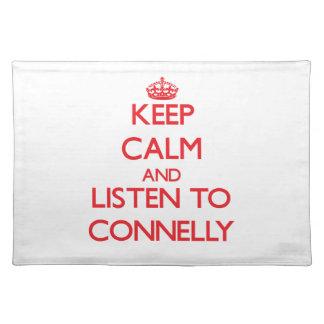 Guarde la calma y escuche Connelly Mantel