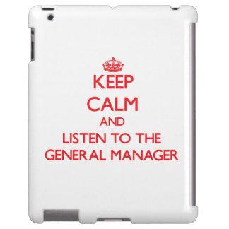 Guarde la calma y escuche director general