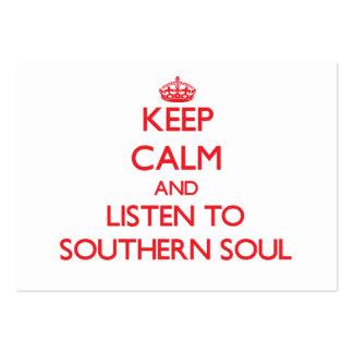 Guarde la calma y escuche el ALMA MERIDIONAL