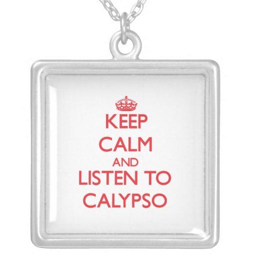 Guarde la calma y escuche el CALYPSO Joyerías