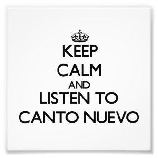 Guarde la calma y escuche el CANTO NUEVO Foto