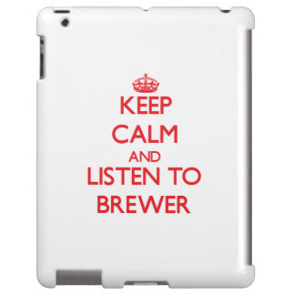 Guarde la calma y escuche el cervecero