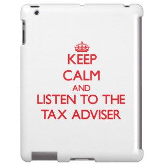 Guarde la calma y escuche el consejero de impuesto