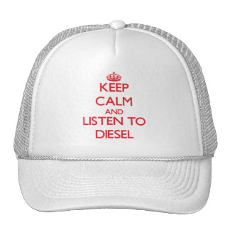 Guarde la calma y escuche el diesel