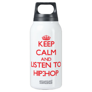 Guarde la calma y escuche el HIP-HOP