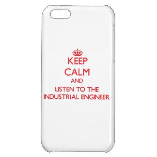 Guarde la calma y escuche el ingeniero industrial