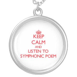Guarde la calma y escuche el POEMA SINFÓNICO
