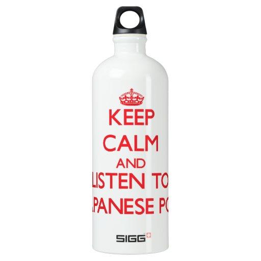 Guarde la calma y escuche el POP JAPONÉS