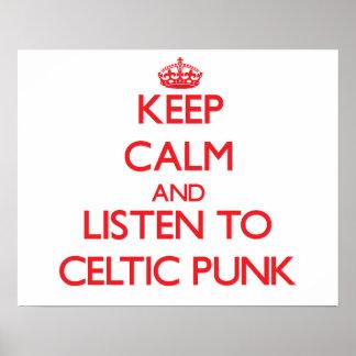 Guarde la calma y escuche el PUNK CÉLTICO