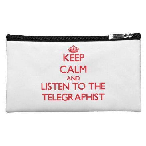 Guarde la calma y escuche el Telegraphist
