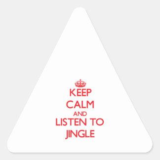 Guarde la calma y escuche el TINTINEO